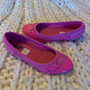 Pink Puma Flats